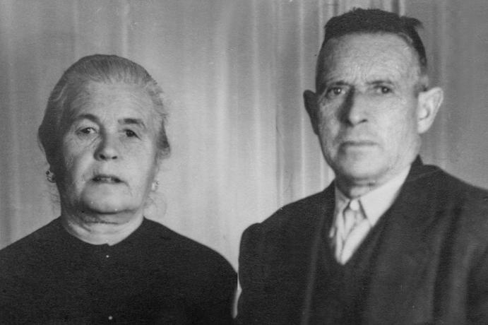 Don Ramón Mora y Doña Francisca Sempere